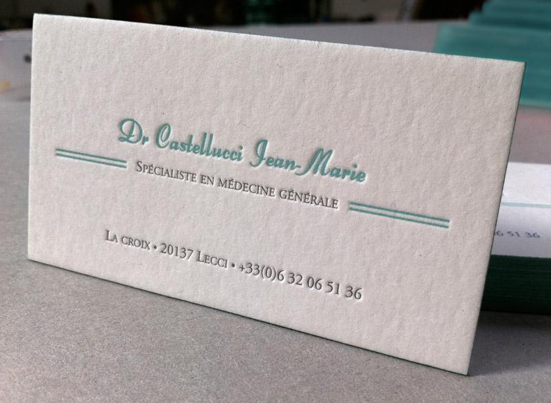 Carte De Visite Dr Castellucci Ralisations