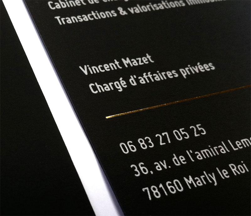 Carte De Visite Et Correspondance Charge D