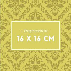 16 x 16 cm