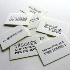 Badcass - Cartes à distribuer