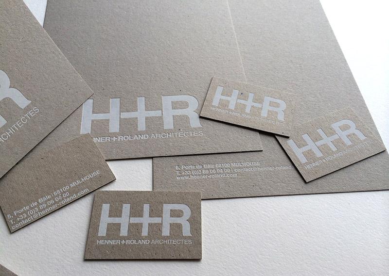 Badcass - Papeterie en letterpress - Architecte