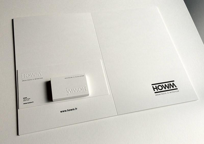 Badcass - Papeterie en letterpress - Architecte d'intérieur