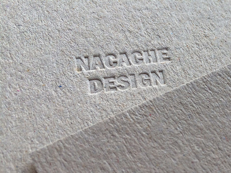 Badcass - Carte de visite en letterpress - Webdesigner