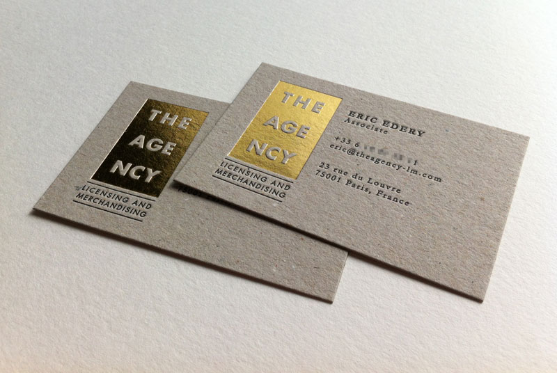 Badcass - Carte de visite en letterpress - Licensing and merchandising