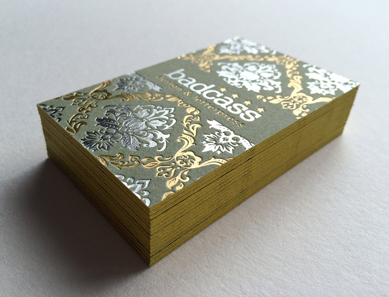Badcass - Carte de visite en letterpress - Design & letterpress