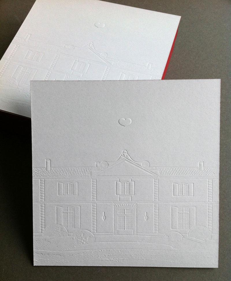 Badcass - Carte de vœux - Domaine viticole