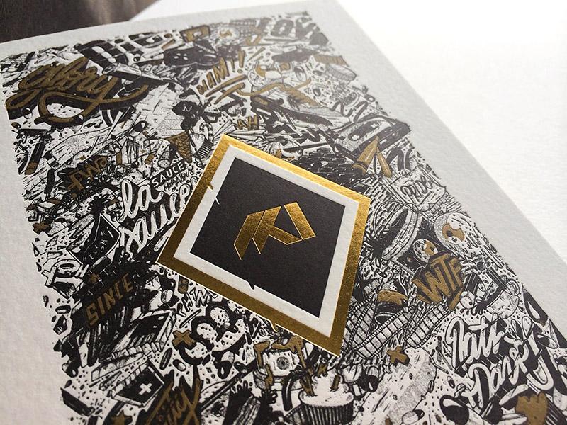 Badcass - Carte de vœux - Design Studio