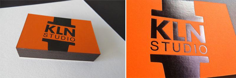 Badcass - Carte de visite en letterpress - Studio de design graphique-