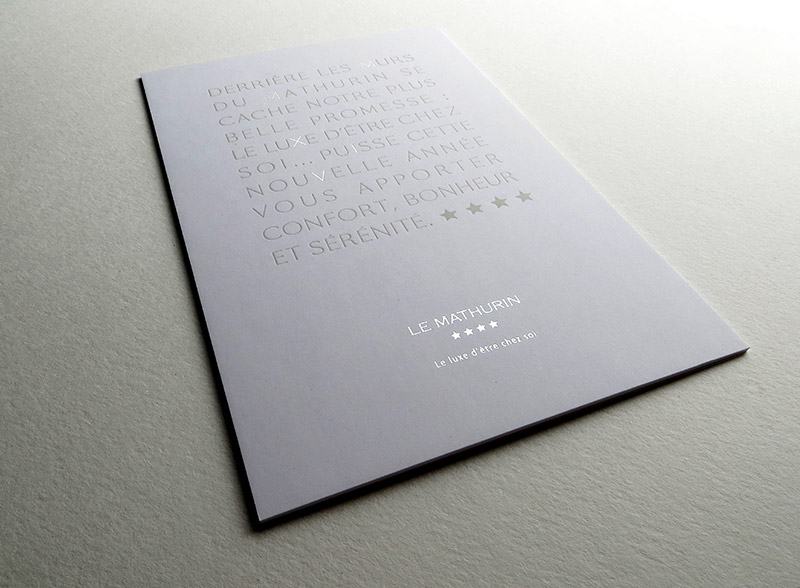 Badcass - Carte de vœux - Hôtel de luxe