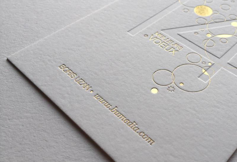Badcass - Carte de vœux - Directeur artistique
