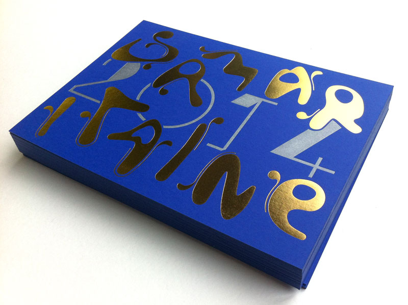 Badcass - Carte de vœux en letterpress - Samaritaine
