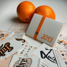 Badcass - Calendrier 2013 en letterpress