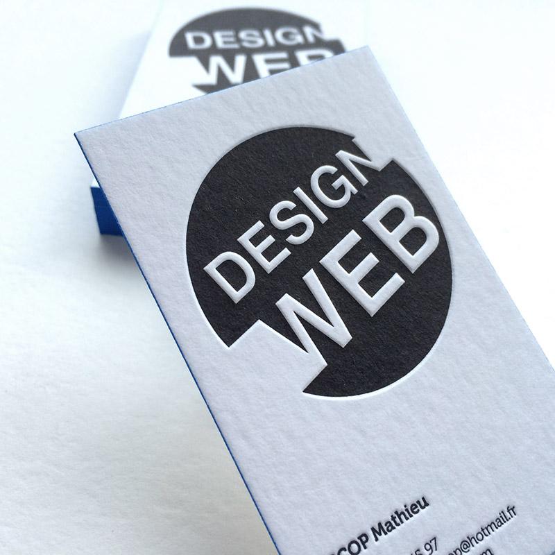 Realisations Carte De Visite Design Web Badcass 1