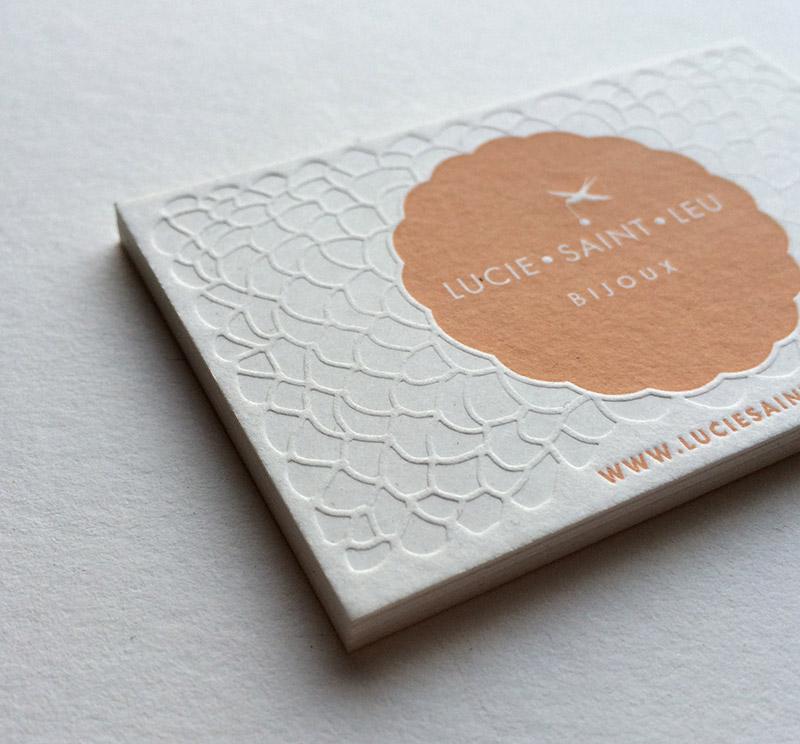 Carte De Visite Creatrice Bijoux